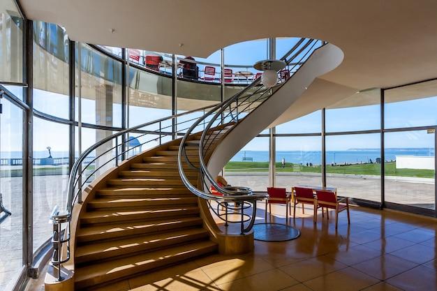 De la warr pavilion bexhill on sea의 계단
