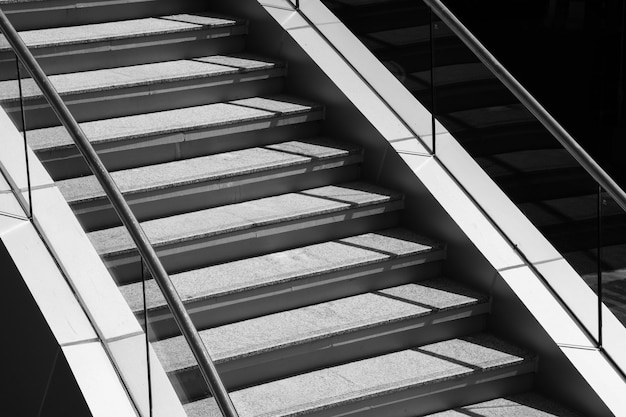 Staircase and shadow