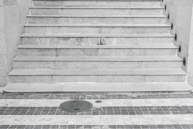 階段の装飾のインテリア