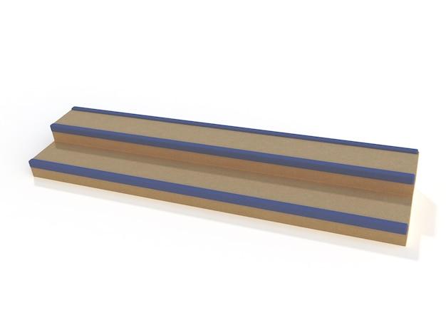 Лестница для скейт-парка изолирована