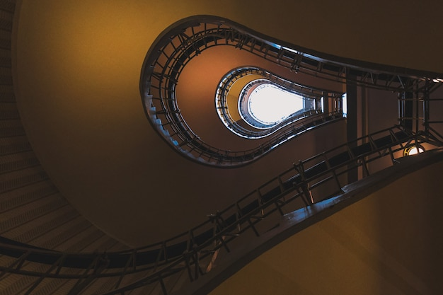 Stairs in the house of the black madonna, prague old town