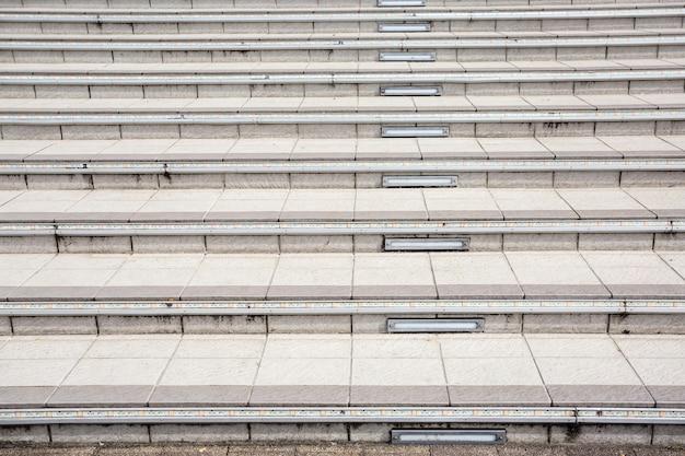 현대적인 건물의 계단