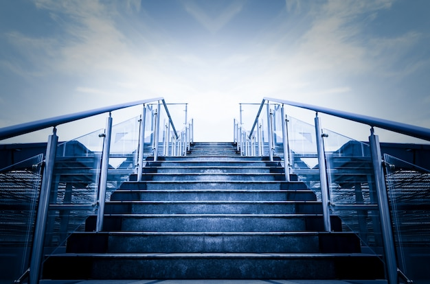 Stairs sunward