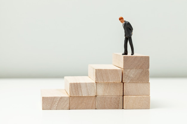 Stairs up as a symbol of career growth up or business success.