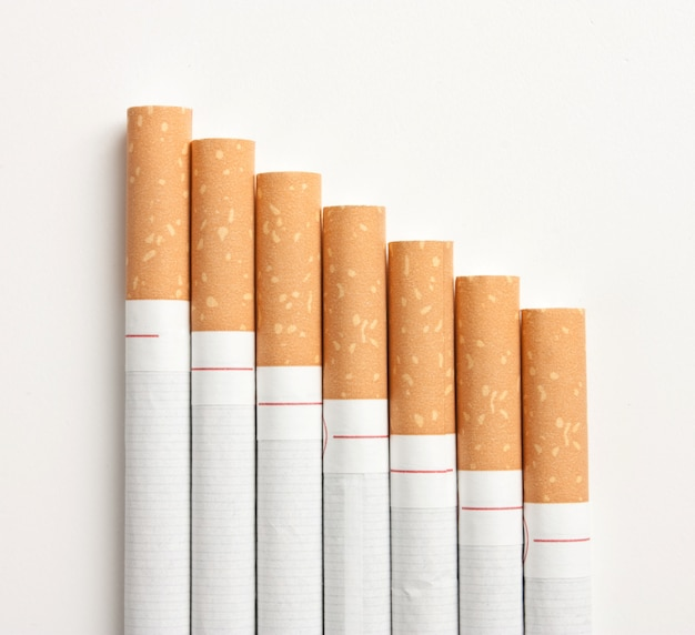 Stairway to hell out of cigarettes