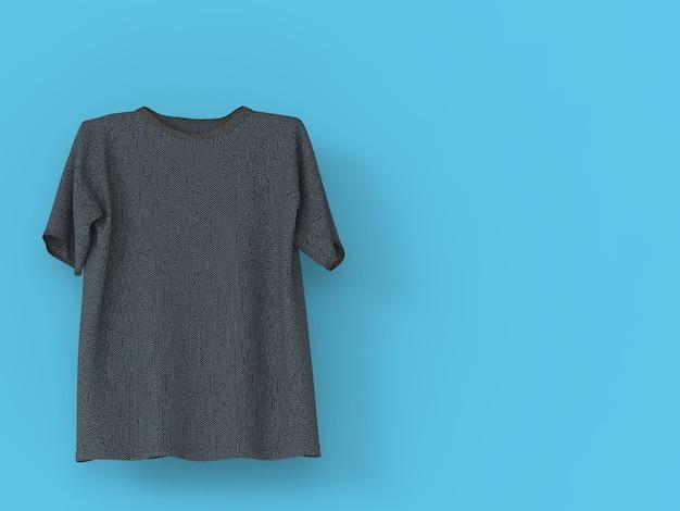 リアルなtシャツを立てる Premium写真