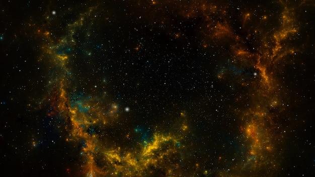 스타 필드 배경입니다. 별이 빛나는 우주 배경 텍스처