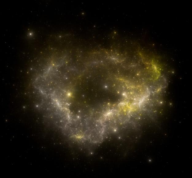 スターフィールドの背景。星空の宇宙背景