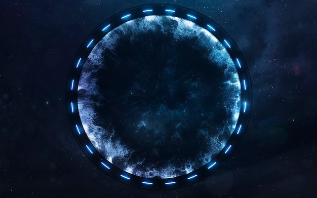 Star gate in space