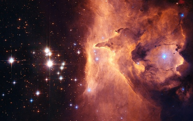 Star pismis sternhaufen open clusters