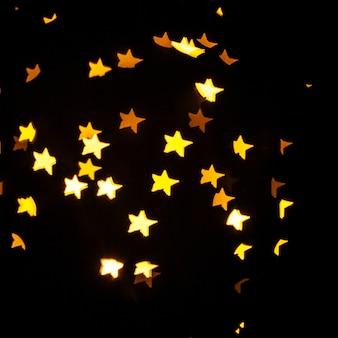 Star-shaped specks of light