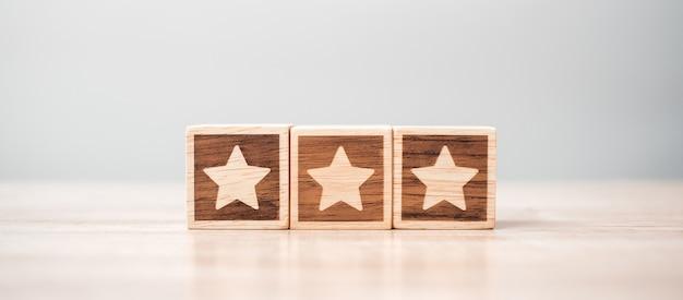 Star symbol block
