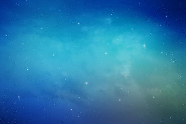 Stardust over polar night sky.