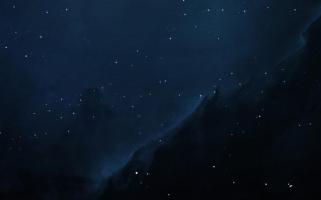 수 광년 동안 깊은 우주에서 starfield