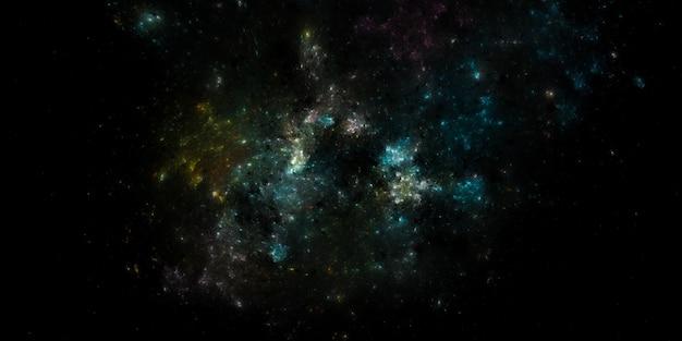 별이 빛나는 우주 배경 텍스처