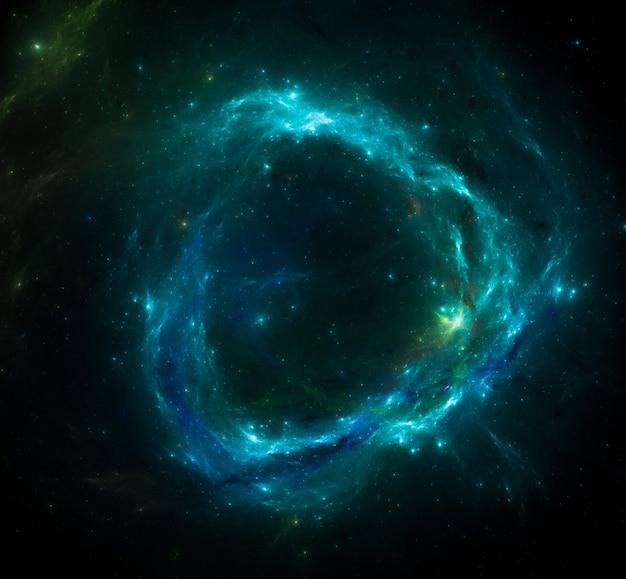 星空の宇宙空間の背景テクスチャ。