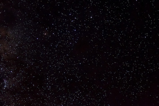Звезды и галактика космическое пространство небо ночная вселенная черный звездный фон блестящего звездного поля