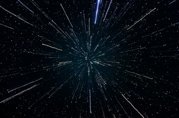 Stars and galaxy outer space sky night universe black starry