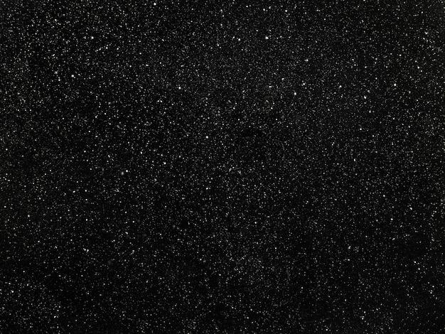 黒い空の星、白い点のある抽象的な黒