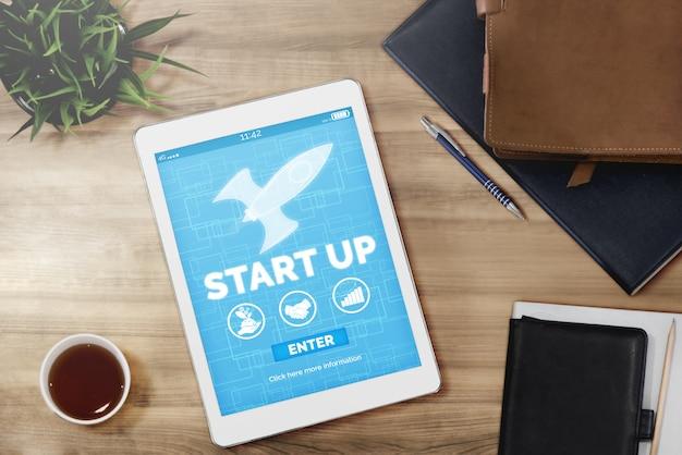 Start up business of creative people Premium Photo