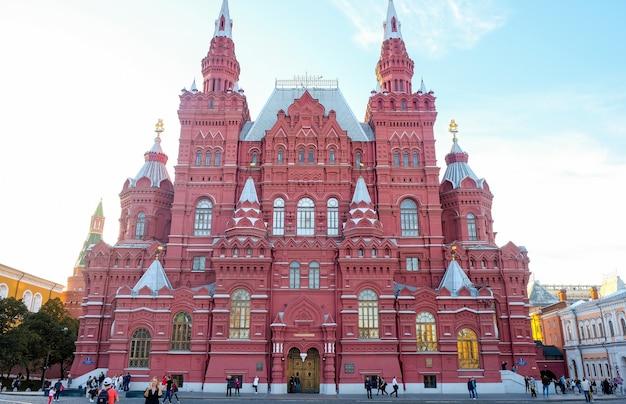 Государственный исторический музей в москве на красной площади