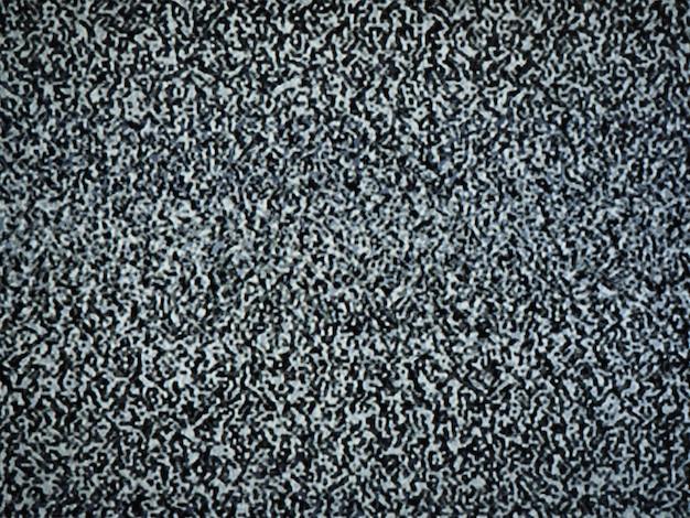 Tv의 정적 잡음