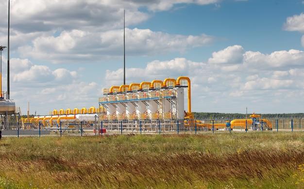 Станция хранения природного газа
