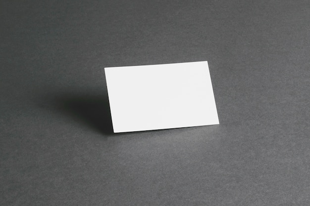 Stationery concept with blank business card