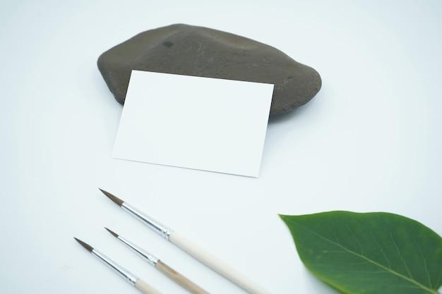 名刺と文房具のコンセプト