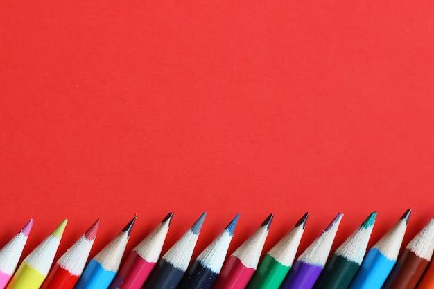 편지지 빨간색 배경