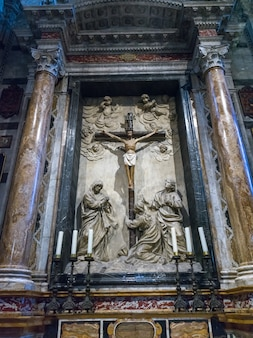 Statue of jesus christ in siena cathedral, siena, tuscany, italy