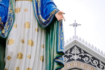 像マリアと教会