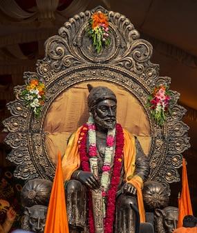 チャトラパティシヴァージーマハラジの像