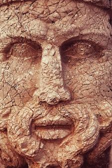 Статуя на горе немрут в турции