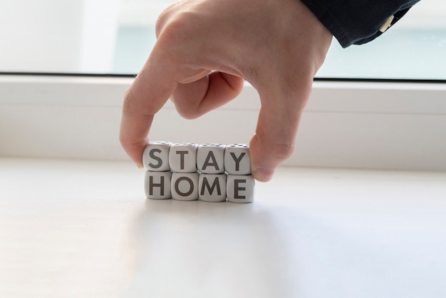 検疫中は自宅で安全を確保する