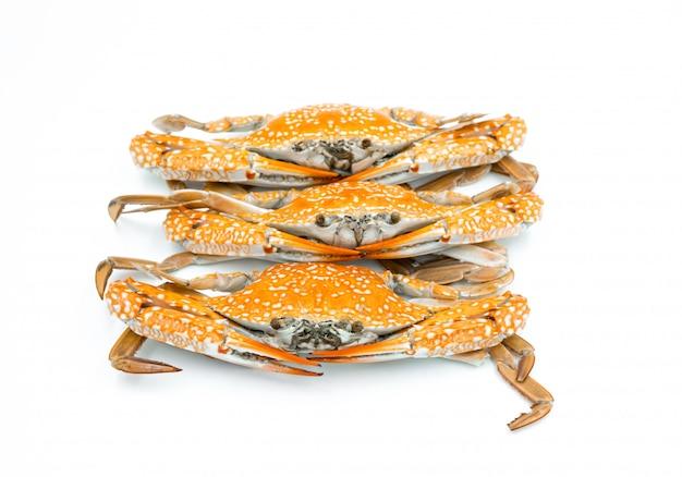 Steam crabs