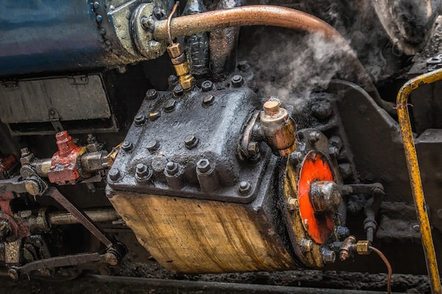 Steam old train