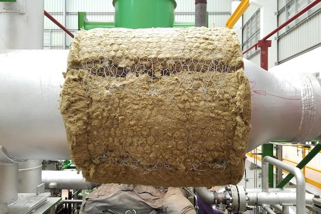 발전소 증기 터빈용 증기 파이프 단열재