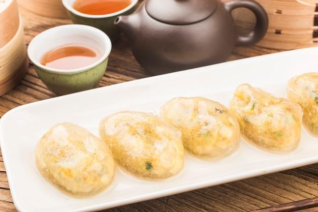 中国の蒸し餃子
