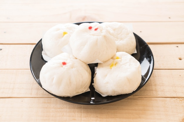 Steamed dumpling or chinese bun