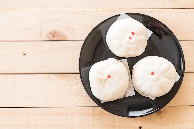 蒸し餃子または中国のパン