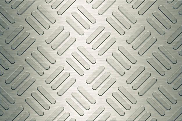 Steel floor texture or background