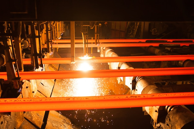 Steel and metal production