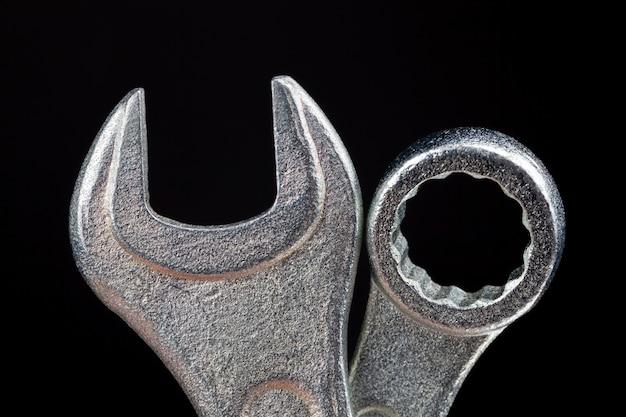 설치 작업 및 너트 조임용 강철 금속 렌치