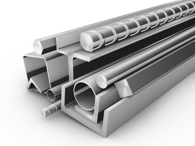 Steel products for construction