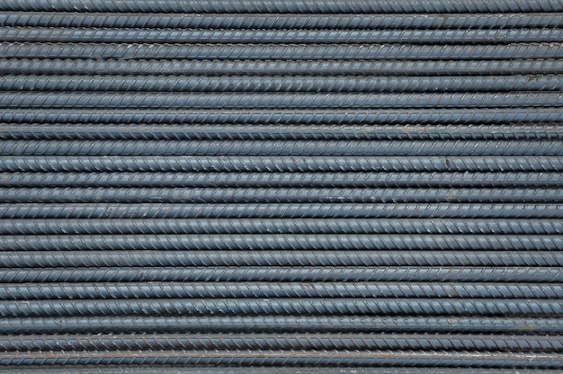 Steel rod background and texture