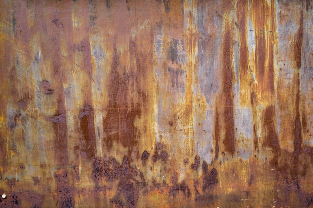 Steel rust texture background