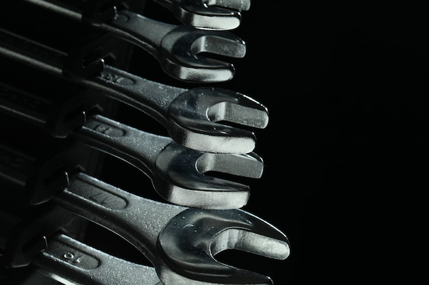 Steel wrenches tools