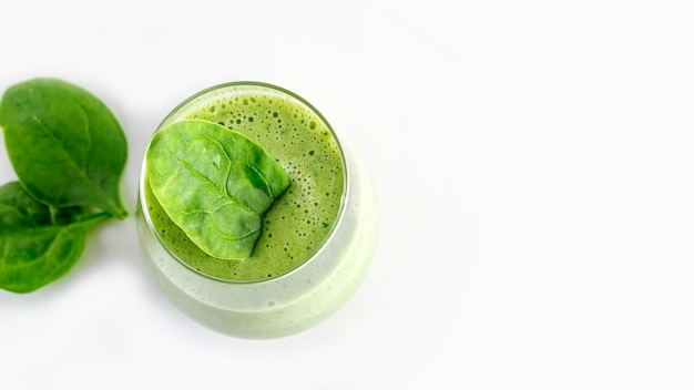 Step by step green smoothie recipe