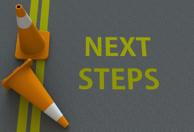 Next steps, message on the road